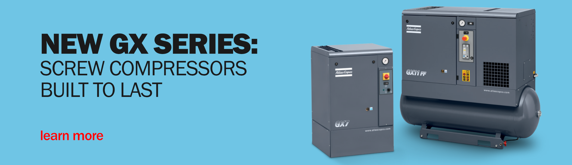 Atlas Copco GX Series Compressors