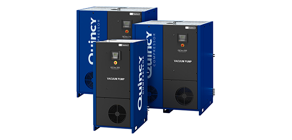Quincy Compressors QCV Series Dry Claw Pumps