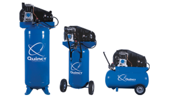 Quincy Compressor Single Stage Units Stationary & Portable Compressors