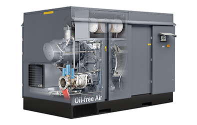 Atlas Copco ZE and ZA VSD Low Pressure Oil-free Screw Air Compressor