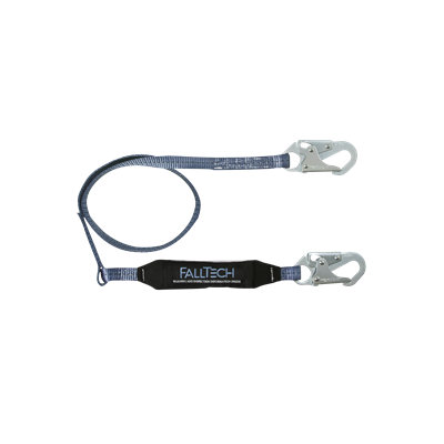 LANYARD ABSORBING SHOCK 310LB 6FT 1 BL