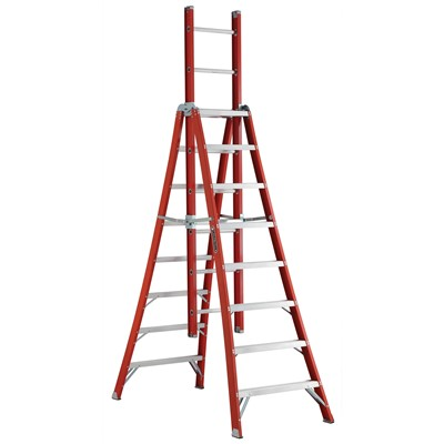 LADDER EXT 8FTOAL TYPE IA 300LB 8FT