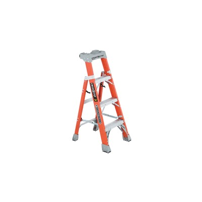 Fiberglass Step/Shelf Ladder 4