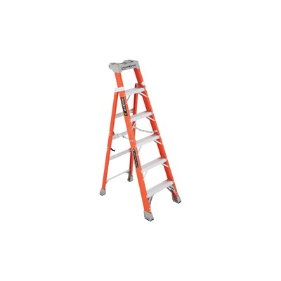 Fiberglass Step/Shelf Ladder 6