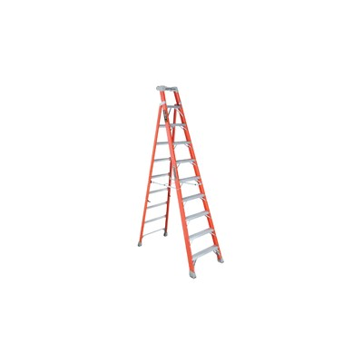 Fiberglass Step/Shelf Ladder 10