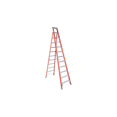 Fiberglass Step/Shelf Ladder 12