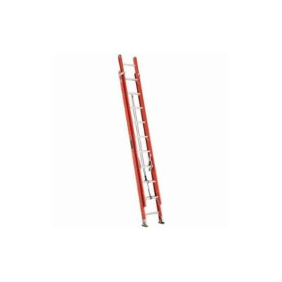 LIGHTWEIGHT FIBERGLASS EXTENSION LADDER
