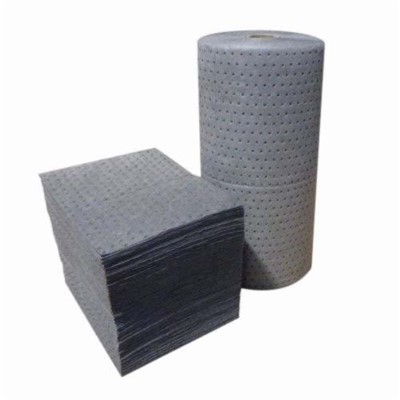PAD ABSORBENT 18X15IN 25.24 GAL/BALE GRA
