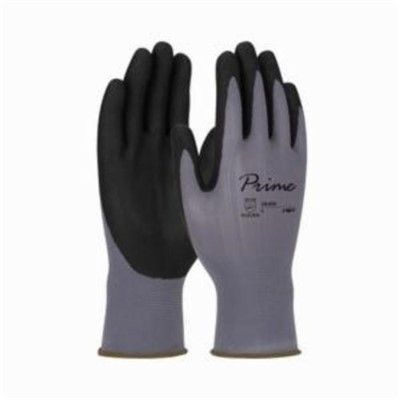 GLOVES GP CTD L FOAM NITRILE 15 GA NYL